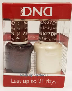 DND Matching Soak Off Gel and Nail Polish (#622 - #637)