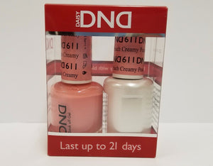 Daisy DND Duo GEL + MATCHING Nail Polish SET (587 to 621) - Choose Your Colors