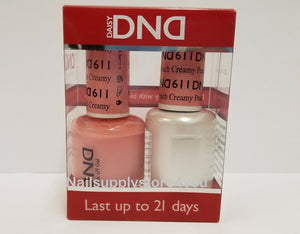 DND Duo - Soak Off GEL + MATCHING Nail Polish Colors SET