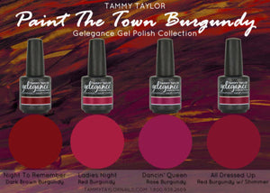Paint the town burgundy