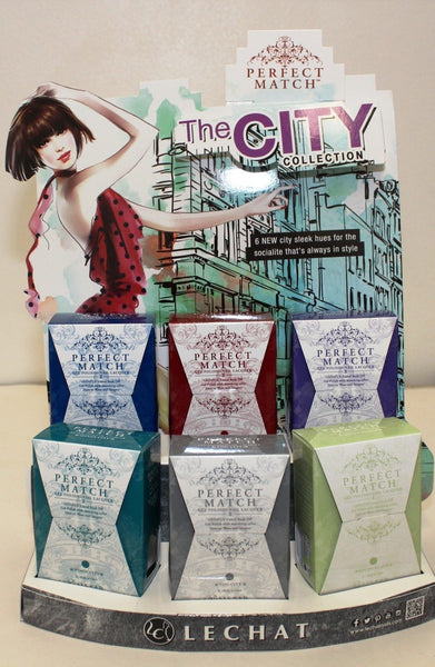 "LeChat Perfect Match - ""THE CITY"" Collection - Duo set 6 Colors"