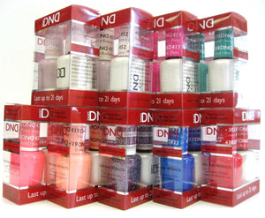 DND Duo GEL + MATCHING Nail Polish  SET (401 to 460) - Choose Your Colors