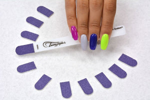 "Tammy Taylor Nail File - Purple Terminator ""Etcher""- Grit 100 - Pack of 50"