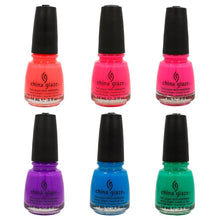 China Glaze Summer Sunsational JELLIES - 6 Bottles Full size 0.5oz/14ml SET