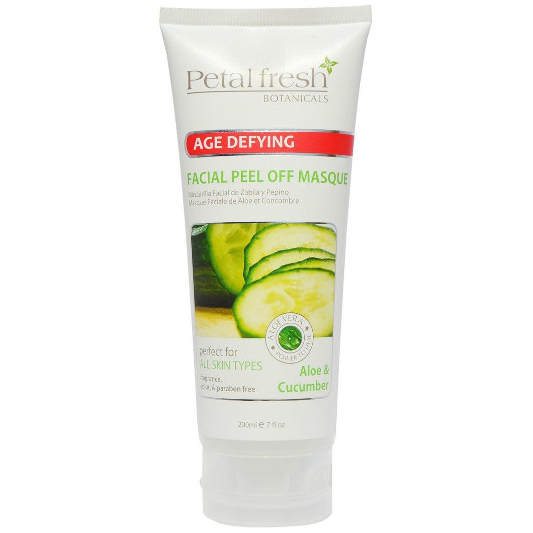 NEW Petal Fresh Botanicals - Age Defying FACIAL MASQUE - ALOE & CUCUMBER - 7oz