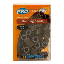 Medicool Sanding Bands FINE Grit Box/90pcs + Free Mandrel 3/32