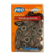 Medicool Sanding Bands COARSE Grit Box/90pcs + Free 1 Mandrel 3/32