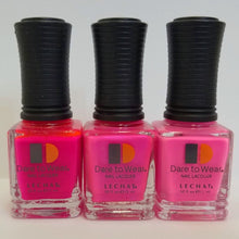 3 Hot Pink Shades - LeChat Dare to Wear Nail Polish - 0.5oz/15ml