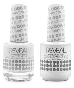 Nail Harmony - REVEAL GEL POLISH & NAIL LACQUER MATCHING DUO (#001 - 037)