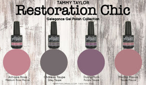 "Tammy Taylor Nails - ""RESTORATION CHIC"" COLLECTION GEL POLISH COLORS"