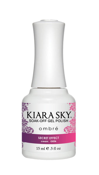 Kiara Sky Soak-off Gel Polish Ombre - G836 SECRET EFFECT