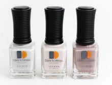 3 SHADES FROM LECHAT DARE TO WEAR BELLE LA VIE COLLECTION - 0.5oz/15ml