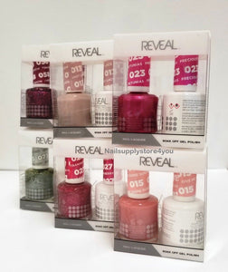 Nail Harmony - REVEAL GEL POLISH & NAIL LACQUER MATCHING DUO (#038 - 072)