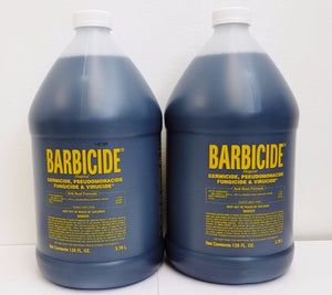 2 Gallons Barbicide Disinfected