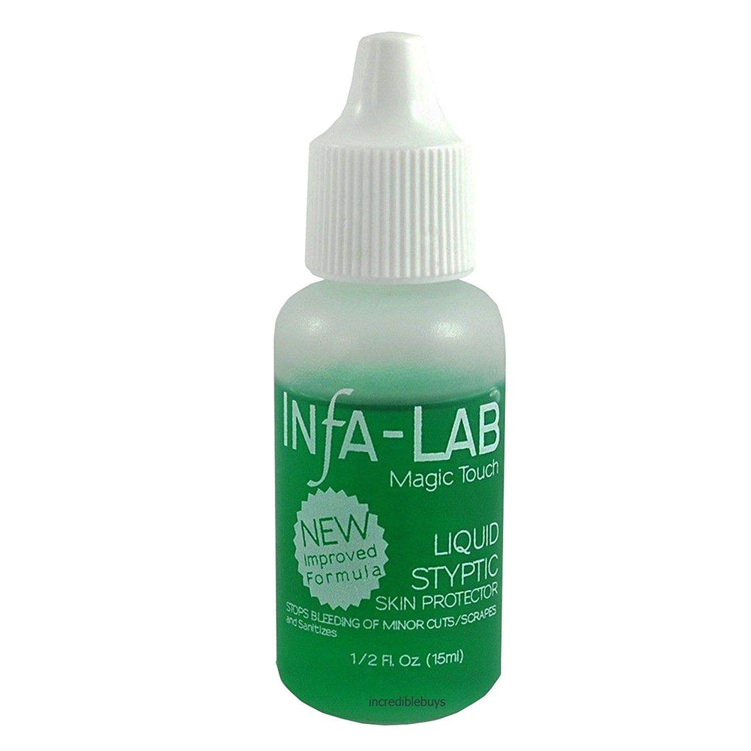 Infa-Lab MAGIC TOUCH Liquid Styptic Nails Stop Bleeding Skin Protector