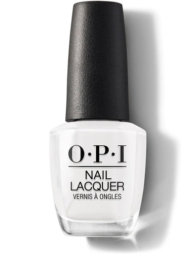 O.P.I Nail Lacquer  0.5 fl oz/15ml - Alpine Snow