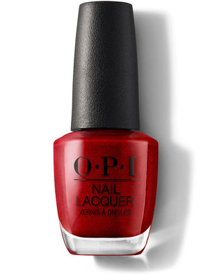 O.P.I Nail Lacquer  0.5 fl oz/15ml - An Affair in Red Square