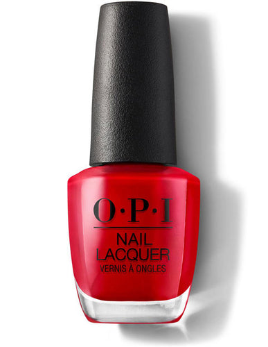 O.P.I Nail Lacquer  0.5 fl oz/15ml - Big apple Red
