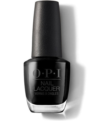 O.P.I Nail Lacquer  0.5 fl oz/15ml - Black Onyx