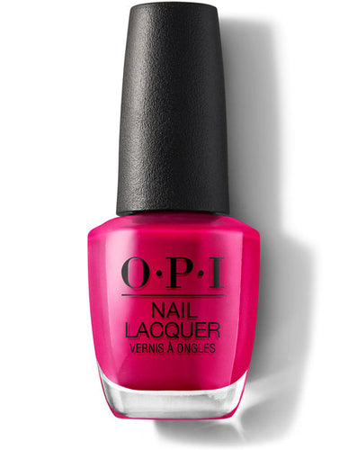 O.P.I Nail Lacquer  0.5 fl oz/15ml - California Raspberry