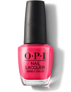 O.P.I Nail Lacquer  0.5 fl oz/15ml - Charged Up Cherry