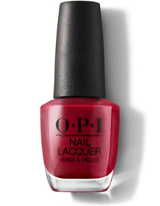 O.P.I Nail Lacquer  0.5 fl oz/15ml - Chick Flick Cherry