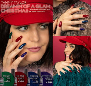 ".Tammy Taylor Nails - ""Dreamin' of a Glam Christmas!"" Soak off Gel Polish Collection"
