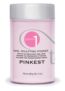 Entity Beauty - Nail Acrylic Sculpting Powder *PINKEST PINK* - Size 23.2oz