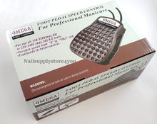 OMEGA - Nail Professional FOOT PEDAL SPEED CONTROL