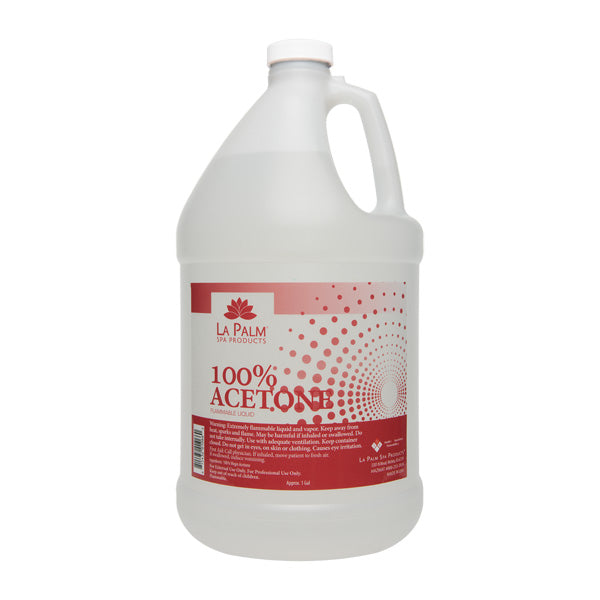 .Lapalm - 100% Pure Acetone Gallon size - PICK UP ONLY! LIMIT 4 Per customer