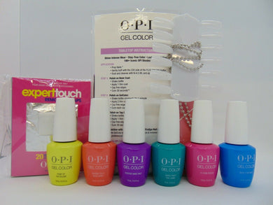 OPI GELCOLOR  Limited-Edition Shades - NEON Collection 6 Colors