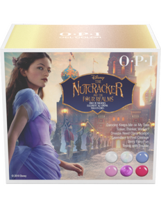 OPI GelColor The NUTCRACKER Collection Holiday 2018 Kit #1