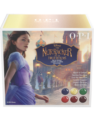 OPI GelColor The NUTCRACKER Collection Holiday 2018 Kit #2