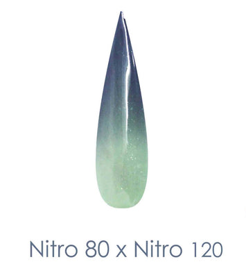 Nitro Dipping Powder - Set of 2 Ombre Colors 2oz/Jar - SHARP EDGE (NT080 X 120)