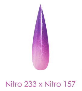 Nitro Dipping Powder - Set of 2 Ombre Colors 2oz/Jar - SUPER GALAXY (NT233 X 157)