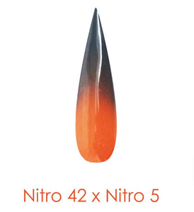 Nitro Dipping Powder - Set of 2 Ombre Colors 2oz/Jar - SWORD'S SPELL (NT042 X 005)