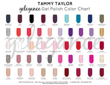 1 Tammy Taylor Nails - Manicure & Pedicure UV/LED SOAK-OFF GEL POLISH COLORS