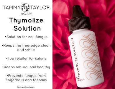 Tammy Taylor Thymolize Solution 1oz/30ml (Clean & White your nails)