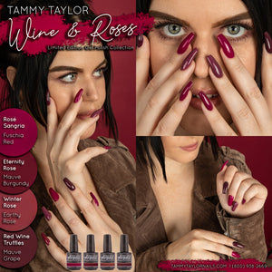 ".Tammy Taylor - ""Wine & Roses"" Limited Edition Gel Polish Collection (4 Colors)"