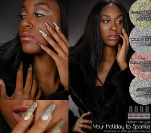 Tammy Taylor Nails - Your Holiday To Sparkle! Gelegance Gel Polish Collection