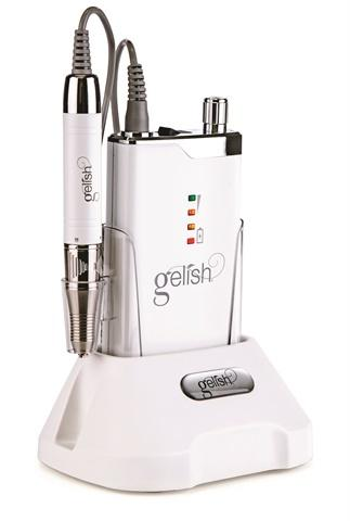 Gelish GO File Hybrid Electric File Portable Rechargeable 35,000RPM
