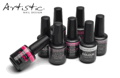 Artistic Colour Gloss  - Soak off Gel Colors - (We combine shipping)