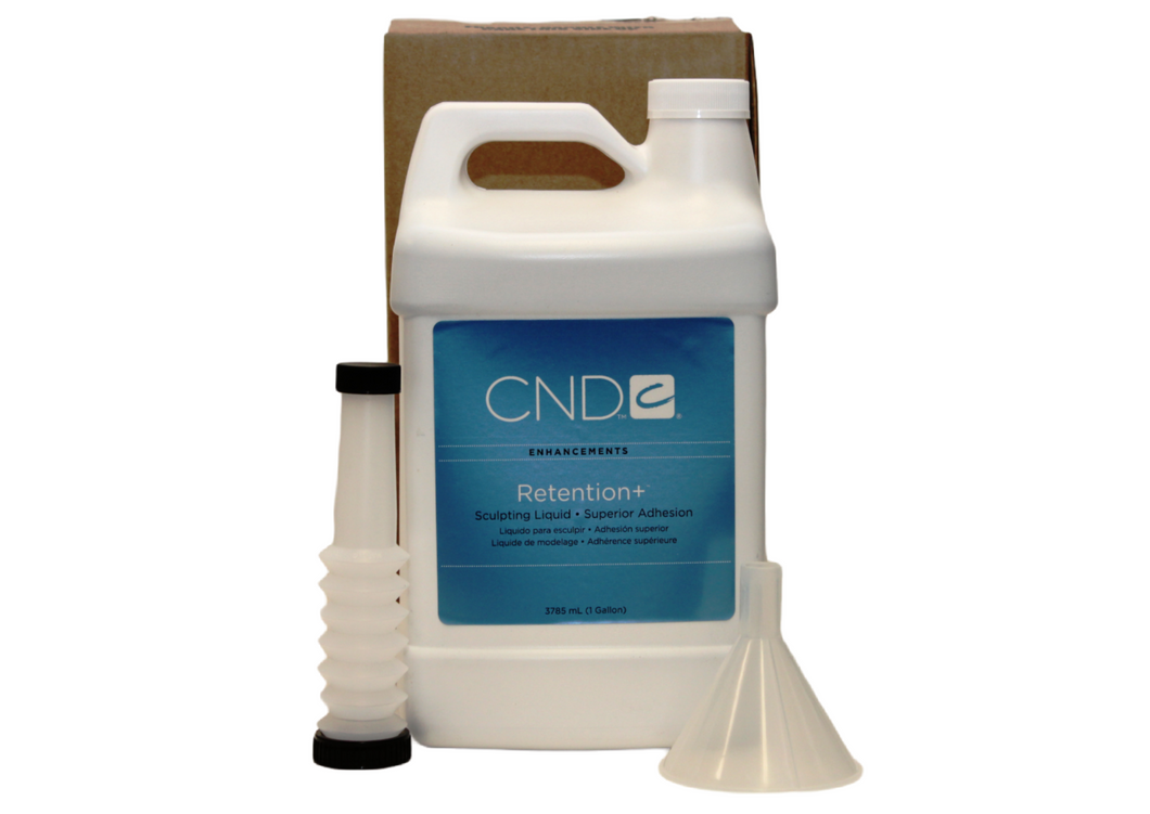 Creative Nail Design (CND) Sculpting Liquid Retention+ - 1 Gallon/3785ml