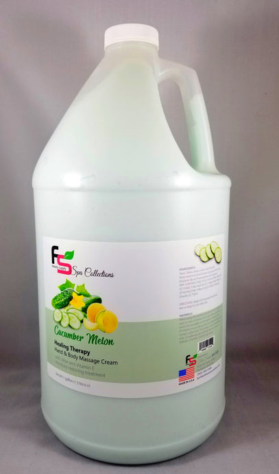 FS Beauty - Healing Therapy Lotion - CUCUMBER MELON - Gallon size