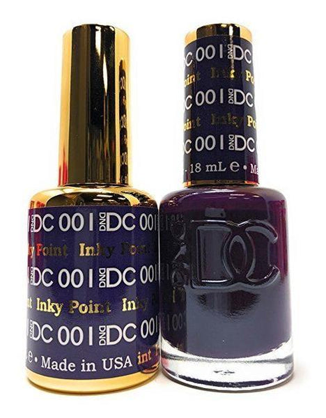 NEW DND DC Duo Soak off Gel & Matching Nail Polish (#001 - 072) - Choose Colors