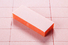 500 pcs - Dixon 2-Way Premium Slim Orange White Buffers - Grit 80/100
