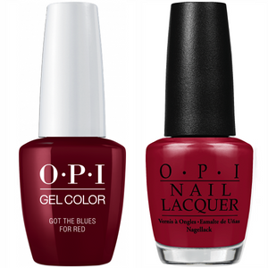 DUO OPI GELCOLOR + MATCHING LACQUER - 0.5oz/15ml