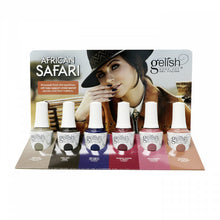 Harmony Gelish African Safari 2018 Soak off Gel Polish Collection - Complete 6 Piece Set