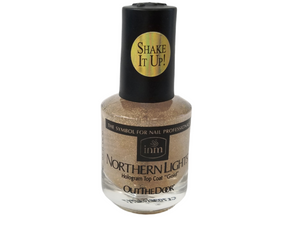 Bundle INM - Out The Door Hologram SILVER, GOLD, OTD TOP COAT .5oz/15mL