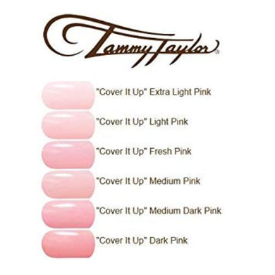 Tammy Taylor Nail - COVER IT UP! Manicure Pedicure Acrylic Nail Powder - 1.5oz